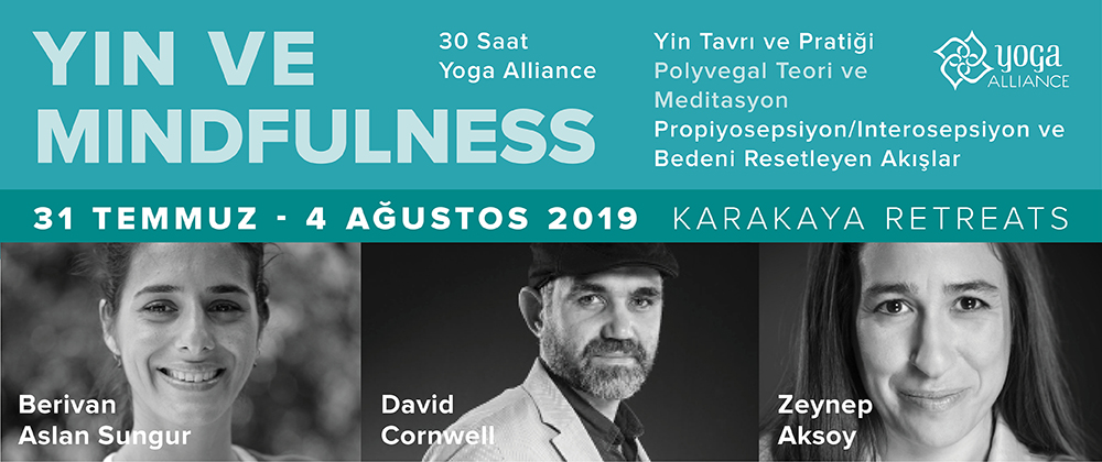 Yin ve Mindfulness - 30 Saat Yoga Alliance